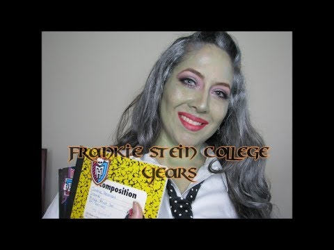 Franky Stein College Years/ DIY Halloween Costume/ Monster High