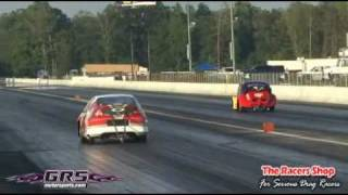 NSCRA Summer Power Tour Round 1 Pro Stock Finals Jason Yerby vs Oliver Frey Thumbnail