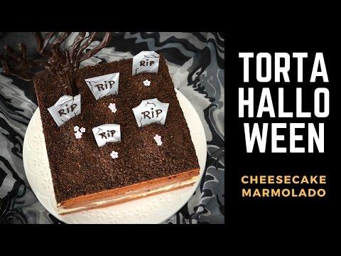 Cheesecake Marmolado 👻 Torta para Halloween || Tan Dulce