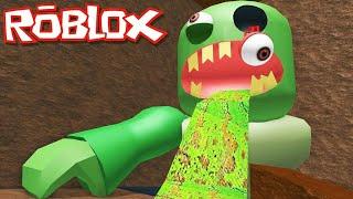 Паркур от зомби!!! - Roblox