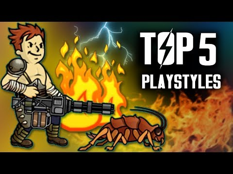 Fallout 4 - Top 5 Playstyles