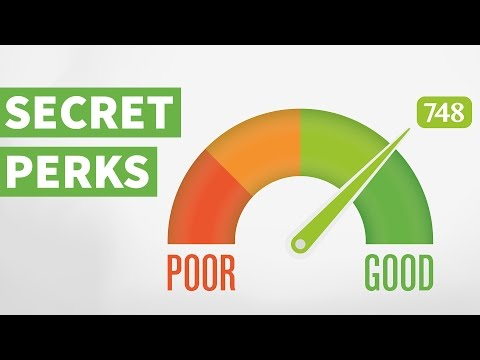 Secret Perks to Enjoy If You Have a Good Credit Score