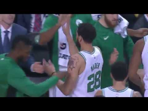 Abdul Nader Hits The 3 Pointer