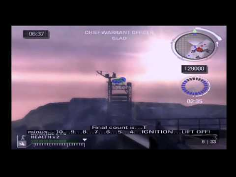 PS2 Battlefield 2: Modern Combat Flying The Flag