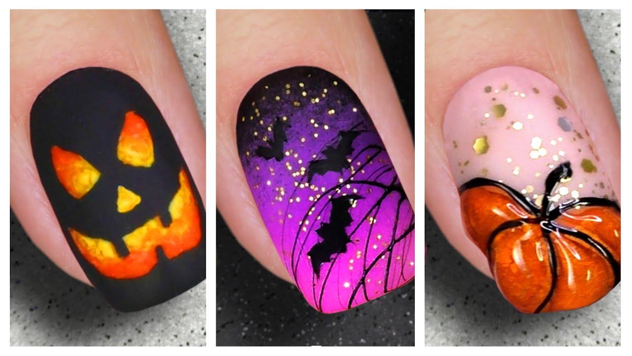 Nail Art Designs 2020 🎃 Halloween Makeup Nails