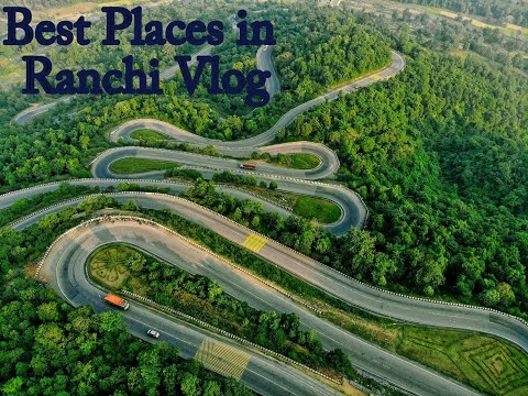 TOP/BEST PLACES IN RANCHI TO VISIT FOR FAMILY AND COUPLE || Ranchi Videos.