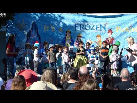TBS Preschool Purim Performance 1