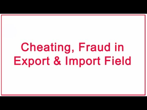 Cheater sales person of air and shipping line in Export import