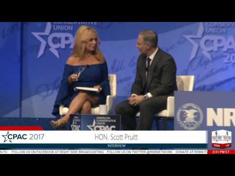 Scott Pruitt FULL SPEECH- CPAC 2017