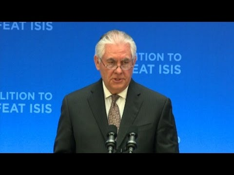 Tillerson: ISIS will be defeated