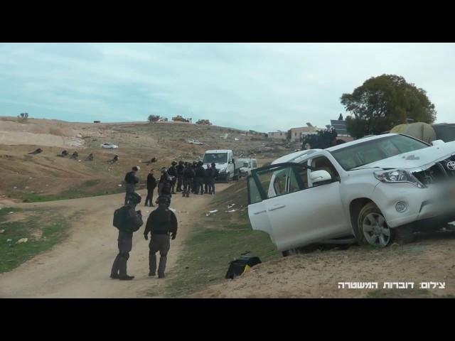 На месте беспорядков в Умм аль-Хиран в Негеве