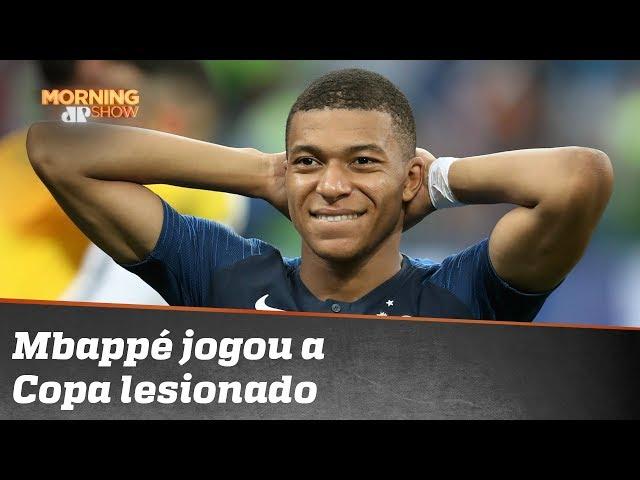 Mbappé jogou a Copa lesionado e ninguém sabia!