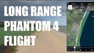 Long range Phantom 4 flight | Nearly didnt make it home!