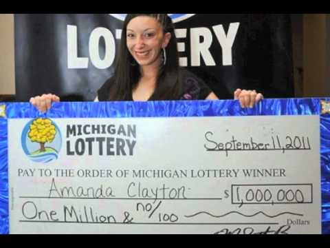 Image result for AMANDA CLAYTON wins lottery
