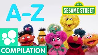 Sesame Street: A-Z Songs | Abby's Letter of the Day Compilation
