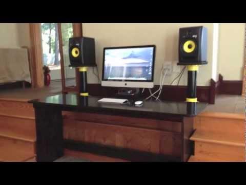 Home Recording Studio Project - YouTube