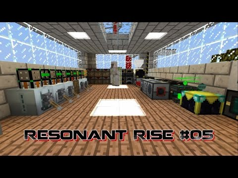 [Minecraft]RESONANT RISE - 05 - Induction Furnace