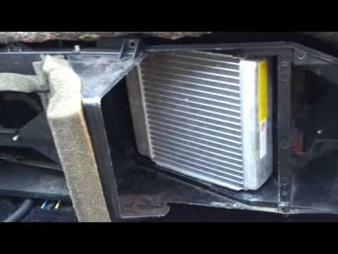 Third Gen Firebird/camaro Heater Core Install Modi