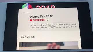 Shoutout To Disney Fan 2018