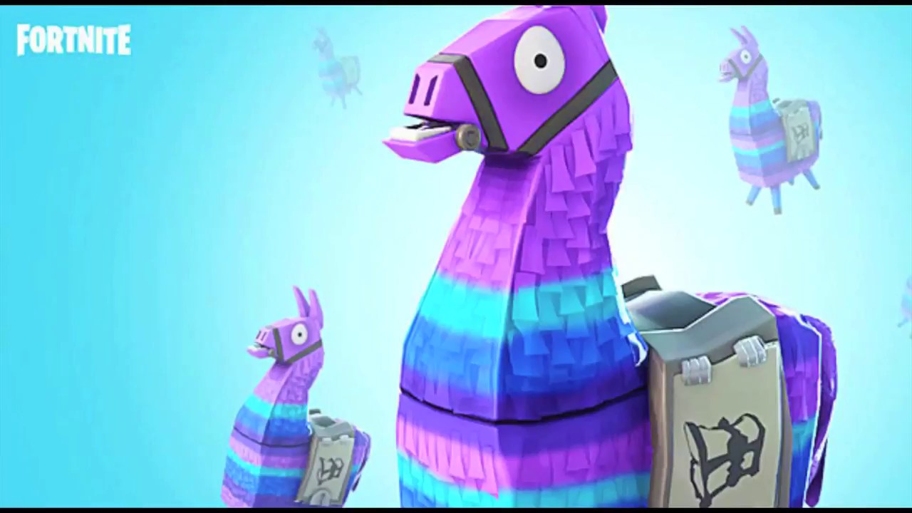 Fortnite Supply Loot Llama Cake Designing The Llama Cake L How To Cook Craft Kids