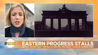 After three decades and trillions in investment, East Germany still trails West