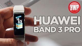 Huawei Band 3 Pro elimizde!   GPS barındıran akıllı bileklik