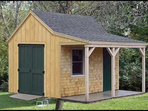 How to choose storage shed style youtube for Building a shed style roof