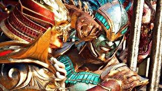 Mortal Kombat 11 - Shao Kahn VS Kotal Kahn & Kitana Becomes New Kahn (MK11 Story)