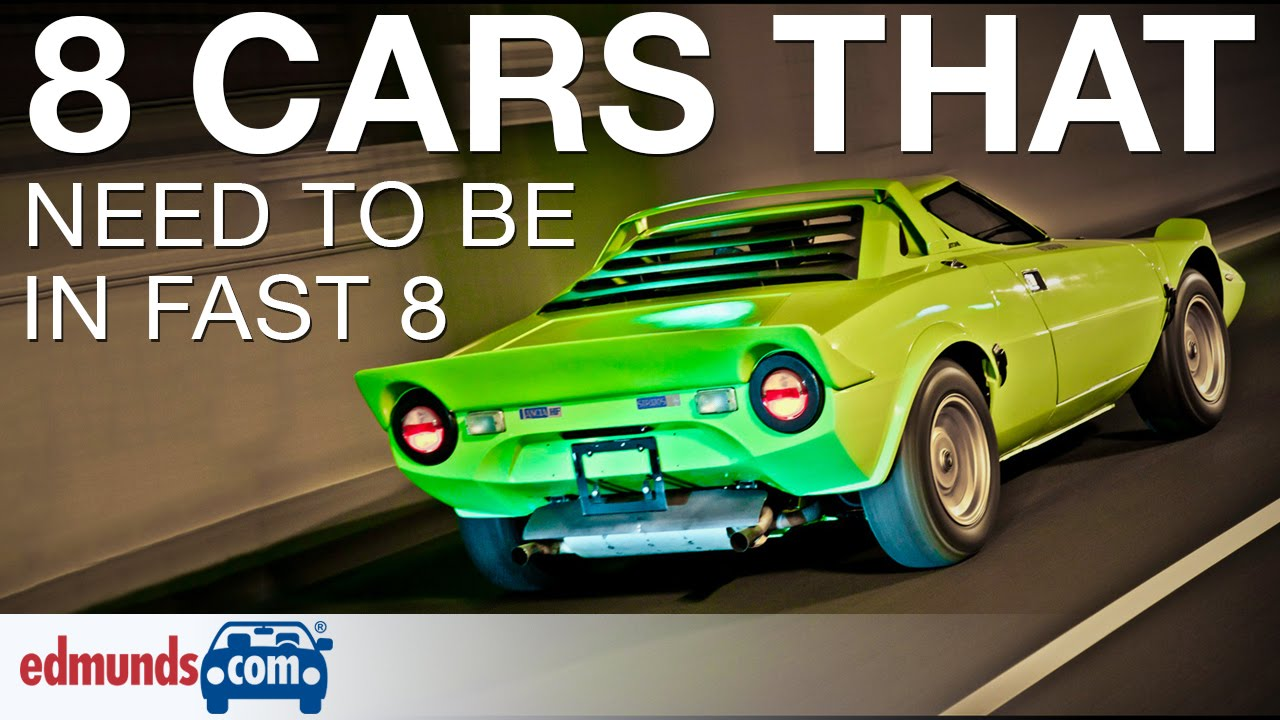 8 Cars That Need To Be In Fast Furious 8 Youtube