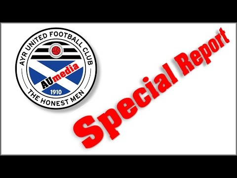 Special Report from Ayr United