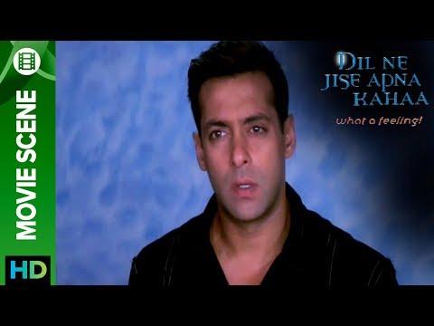 When Salman got angry - Dil Ne Jise Apna Kahaa