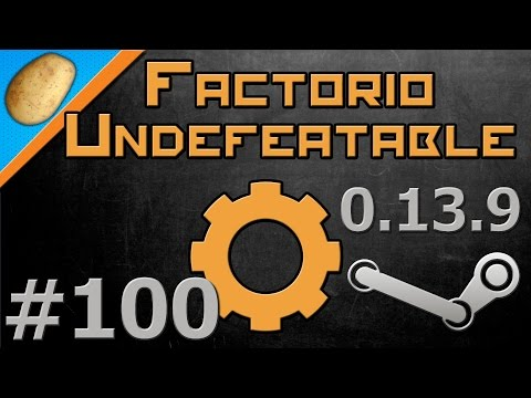 Factorio Undefeatable Modded [Steam - 0.13.9] - Let's Play PART #100 - Uranium Power!