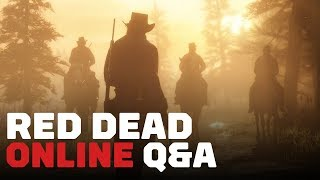 Red Dead Online: Dev Q&A Reveal First Multiplayer Details