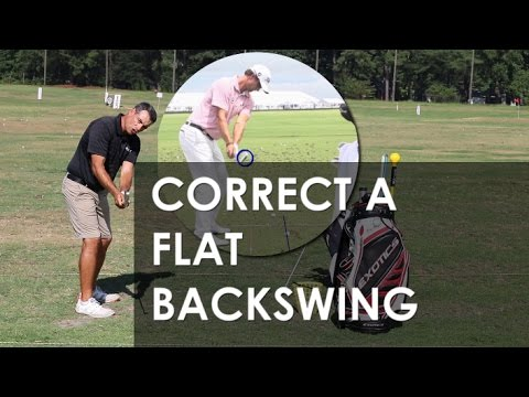 How to Fix a Flat Backswing