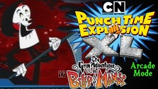 Grim Reaper Arcade Mode - Cartoon Network: Punch Time Explosion XL