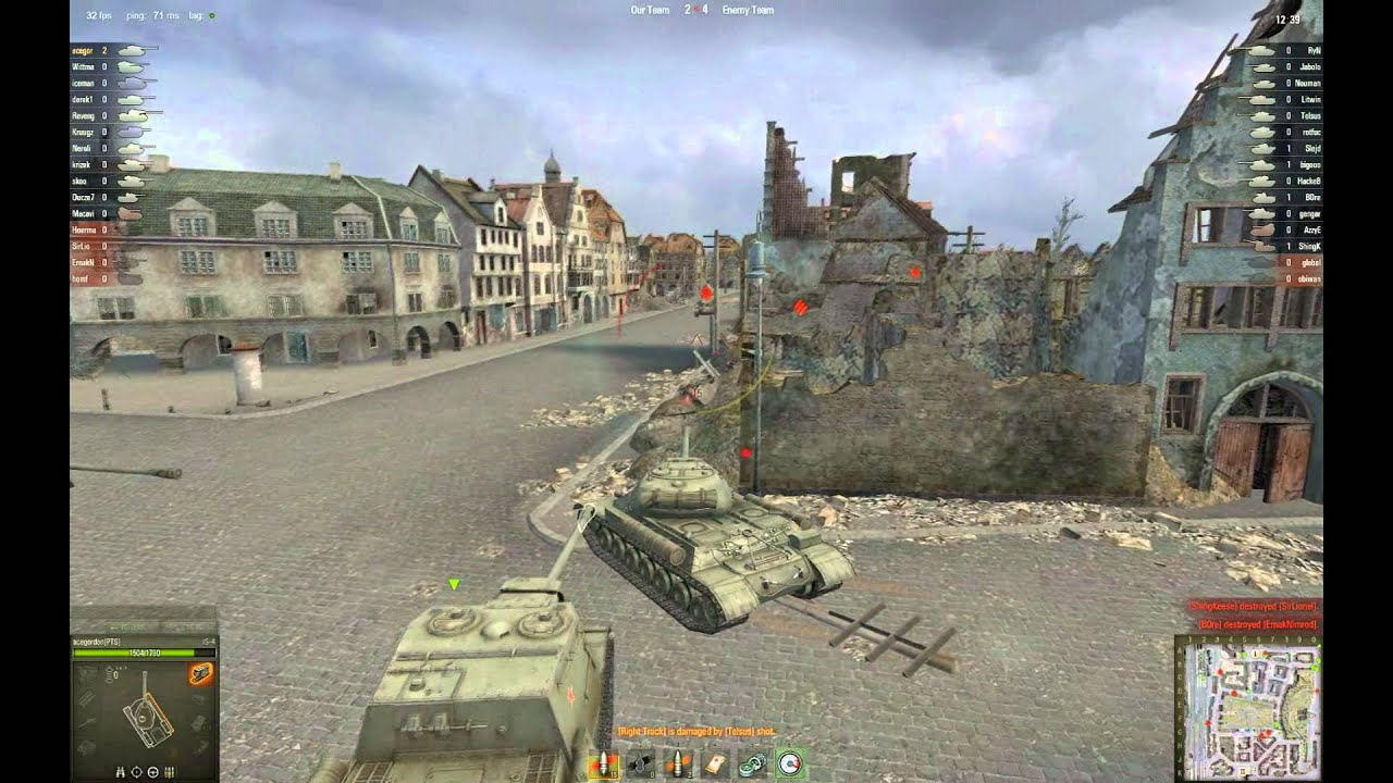 World of Tanks EU: IS4 gameplay #3