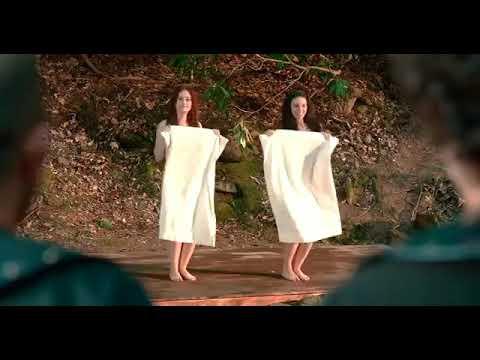 Bizans oyunlari filminin dans sahnesi