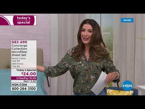 HSN | Bedding Essentials 08.20.2019 - 06 AM