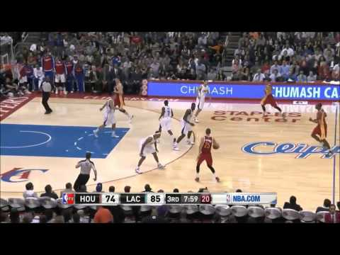 Chandler Parsons vs Los Angeles Clippers 2013.11.04