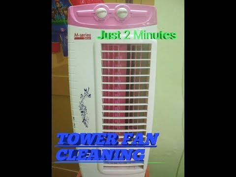 TOWER FANயை எப்படி சுத்தம் செய்வது? | How to Clean Tower Fan | #TowerFan Cleaning