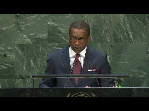🇧🇯 Benin - Chair of Delegation Addresses General Debate, 74th Session