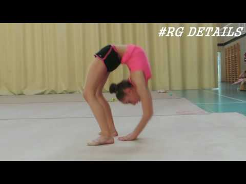 Rhythmic gymnastics warm up / stretching / flexibility /