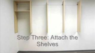 How To Install A Do-it Yourself Closet
