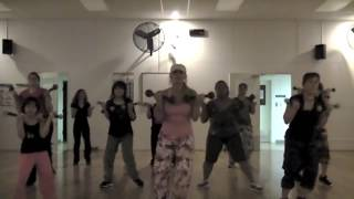 "SEAN PAUL - ""Press It Up"" -  Choreography for Dance Fitness/Toning"