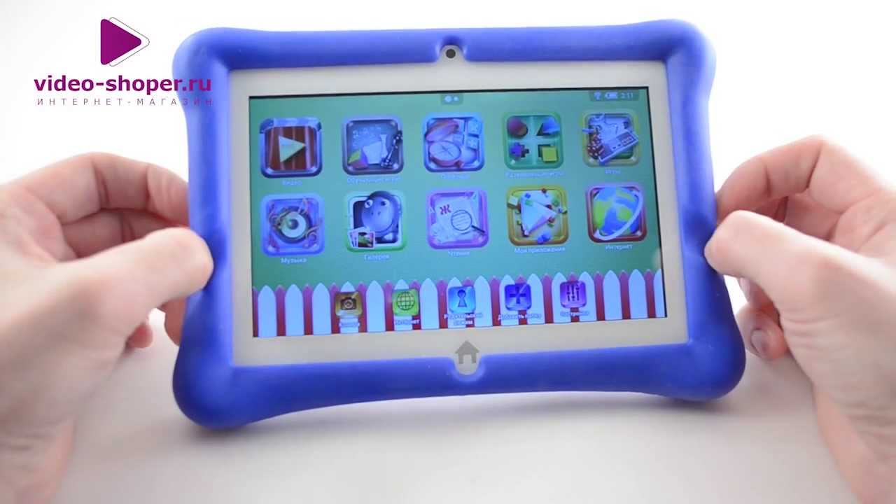 Детский планшет iKids - YouTube