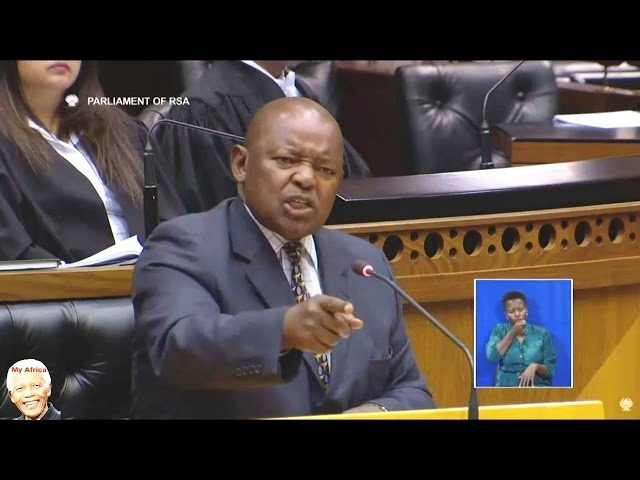 """Watch """"Terror"""" Lekota Getting VERY Angry In Parliament"""