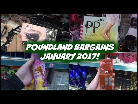 Poundland Bargains January 2017