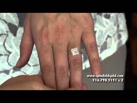 Princess Cut Diamonds Size, Optics and Color