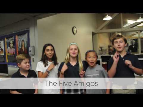 The Five Amigos - Harbor Day School