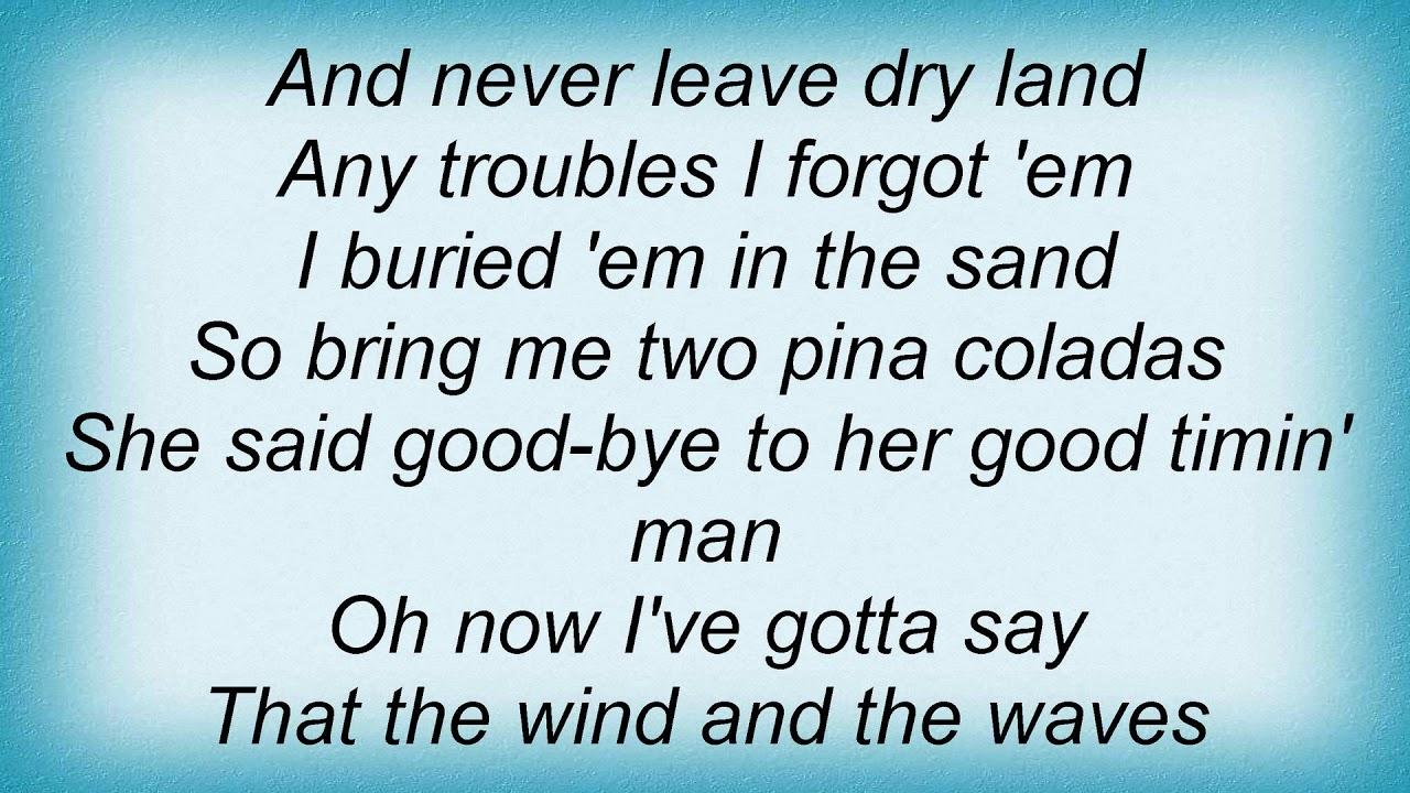 Garth Brooks   Two Pina Coladas Lyrics   YouTube